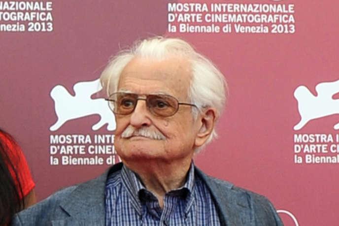 Le cinéaste Marlen Khutsiev en 2013 à la Mostra de Venise.