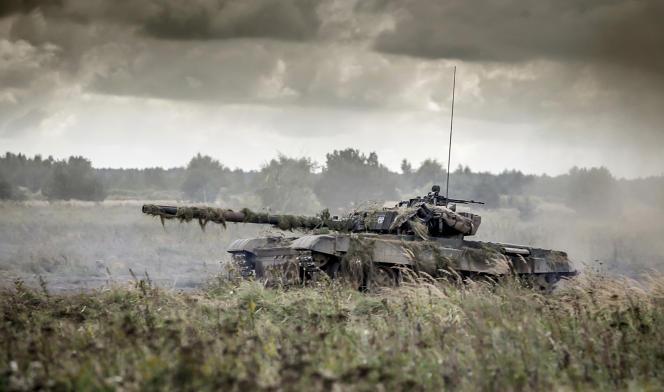 Lors d'un exercice de l'OTAN en Pologne, en 2017.