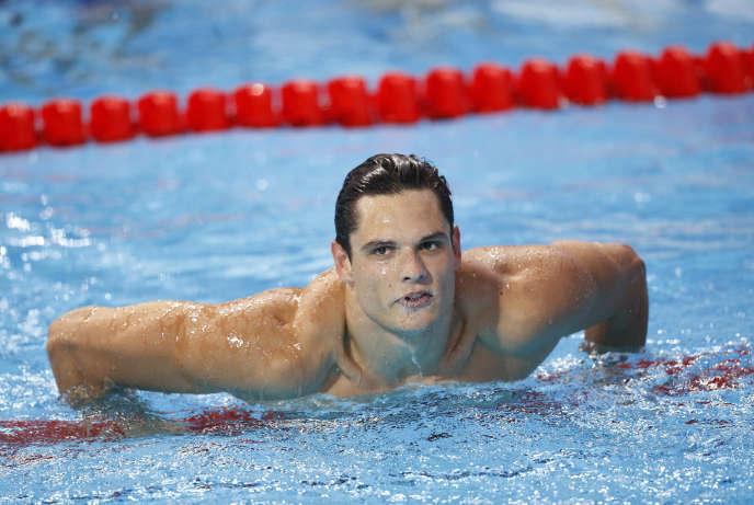 Après une interruption de trois ans, Florent Manaudou revient à la natation, pour espérer remporter l'or olympique à Tokyo.
