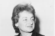 La journaliste et écrivaine féministe américaine Betty Friedan, en 1960.