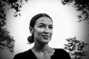 Alexandria Ocasio-Cortez, dans le Queens, à New York, le 4juillet 2018.