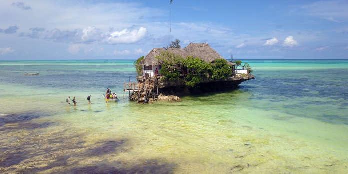 Bain d'épices à Zanzibar