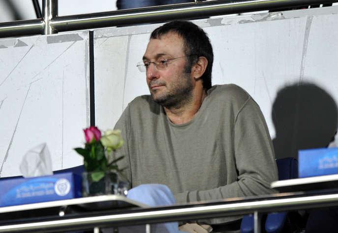 Le milliardaire russe Souleïman Kerimov, le 16 janvier 2012, à Dubaï.