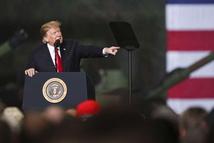 Lors d'une allocution dans l'Ohio le 20 mars le président américain Donald Trump s'en est pris à John McCain, républicain décédé en août 2018.