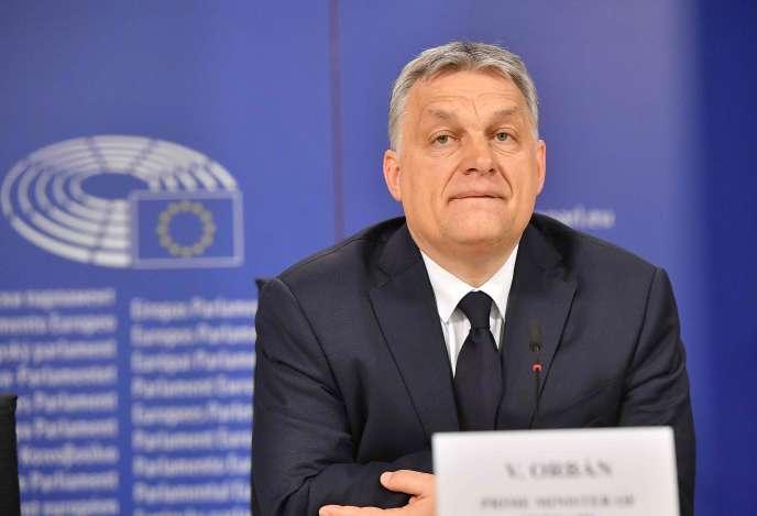 Le premier ministre hongrois, Viktor Orban, à Bruxelles, le 20 mars.