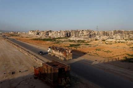 A Ein Terma, dans la Ghouta orientale, le 26 février.