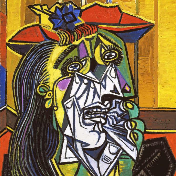 « La Femme qui pleure », de Pablo Picasso (1937), portrait de Dora Maar analysé par Siri Hustvedt dans « Une femme regarde les hommes regarder les femmes ».