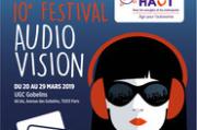 10e festival de l'audiovision à Paris et Lyon.