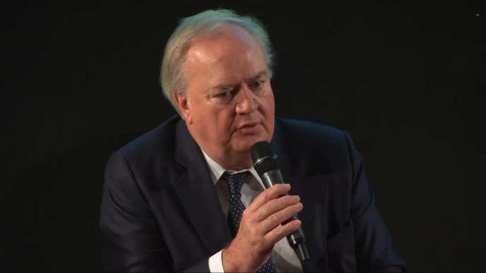Le PDG du groupe Scor, Denis Kessler.