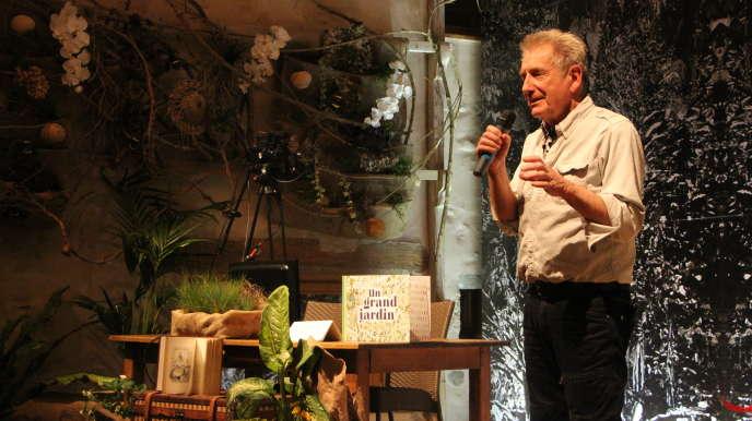Le paysagiste et« jardinier» Gilles Clément.