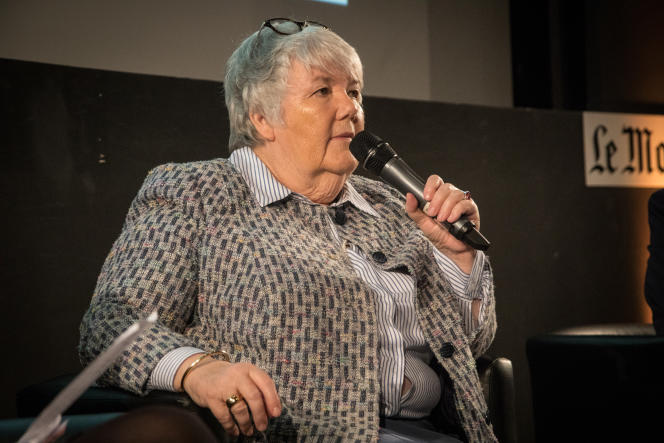 Jacqueline Gourault, ministre de la cohésion des territoires, était au Club de l'économie du« Monde», jeudi 21 mars.