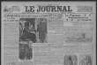 «Le Journal», dimanche 18 février 1923.
