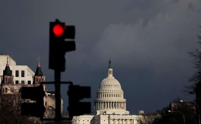 Le Capitole à Washington (D.C.), le 22 mars.