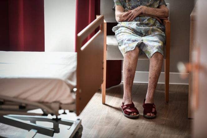 La vieille dame était entrée à l'Ehpad en2016, après la mort de son mari, avec lequel elle avait vécu soixante-seizeans.