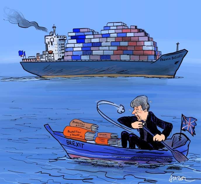 Brexit: les entreprises françaises du Royaume-Uni sur le départ