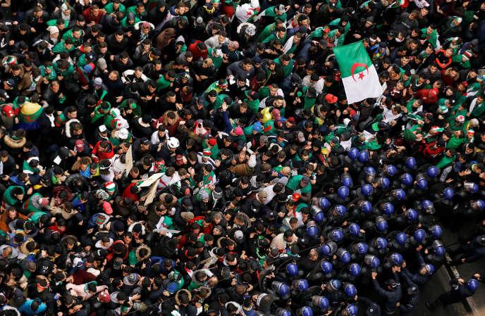 A Alger, vendredi 22 mars.