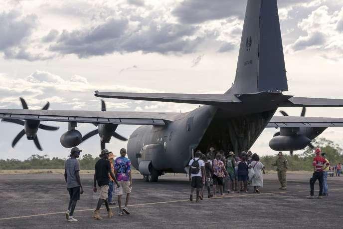 L'armée et la police ont déjà procédé à l'évacuation préventive d'un grand nombre d'habitants du Territoire du Nord et de l'Etat voisin du Queensland.