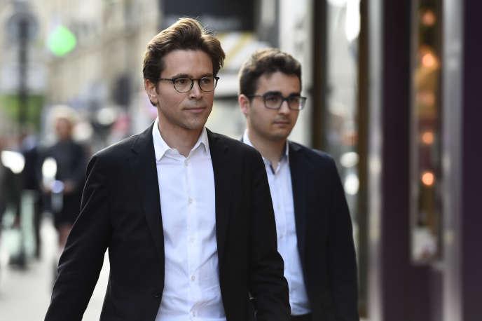 Geoffroy Didier – ici en juillet 2017 –, vice-président de la région Ile-de-France, a été désigné directeur de campagne du parti Les Républicains pour les élections européennes.