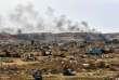 Une vue d'ensemble du village de Baghouz, dans l'est de la Syrie, dimanche24mars2019.