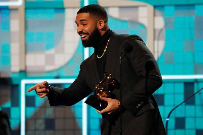 Le rappeur canadien Drake fait partie en 2018 des cinq artistes les plus vendus de la planète.