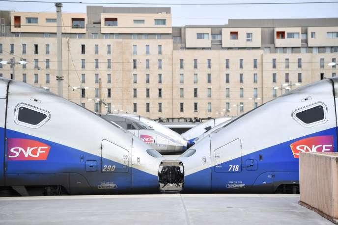 A la gare de Marseille Saint-Charles, le 3 avril 2018.