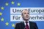 Manfred Weber, chef de file du PPE pour les européennes, le 25 mars à Berlin.
