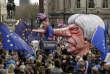 Une marionnette à l'effigie de la première ministre Theresa May lors de la manifestation europhile, à Londres, le 23 mars.