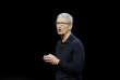 Le PDG d'Apple, Tim Cook, le 4 juin 2018.