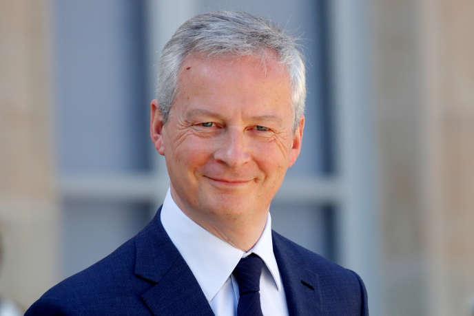 Le ministre de l'économie, Bruno Le Maire, le 26 mars.