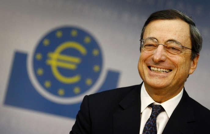 Le président de la Banque centrale européenne, Mario Draghi, à Francfort (Allemagne), en novembre 2011.