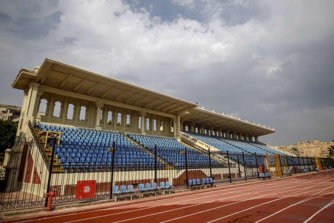 Le stade d'Alexandrie, ici le 5 février, est l'une des six enceintes égyptiennes retenues pour la Coupe d'Afrique des nations 2019.