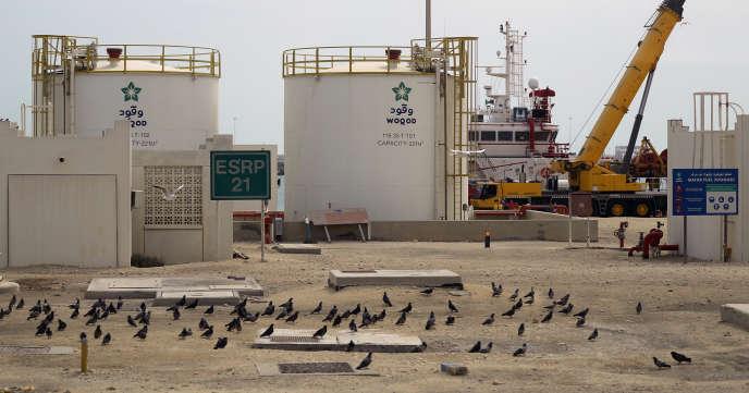 Le site de production degaz naturel liquéfié (GNL) de Ras Laffan, au Qatar, le 6 février 2017.
