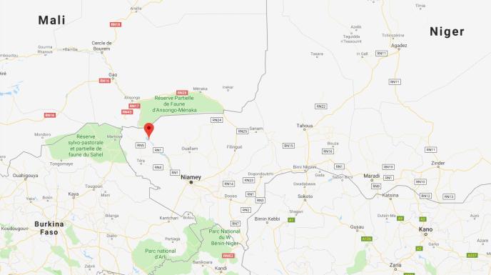 Le barrage Kandadji sur le fleuve Niger sera situé en amont de Niamey et à 60 km de la frontière avec le Mali.