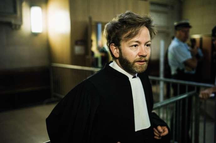 L'avocat Antoine Vey, en septembre 2018.