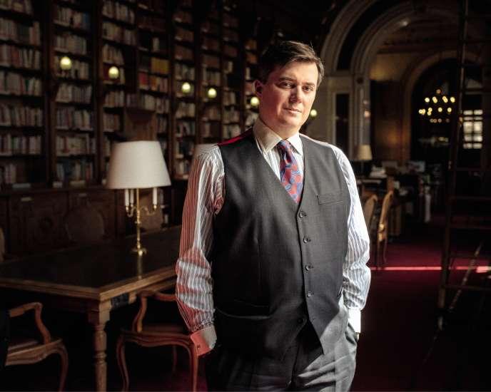 Le sénateur LR des Français à l'étranger Christophe-André Frassa, patron de la Fraternelle parlementaire, qui regroupe les membres de l'Assemblée et du Sénat affiliés à une loge maçonnique.