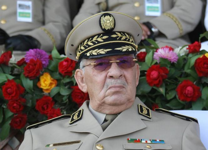 Ahmed Gaïd Salah à Alger, en juillet 2018.