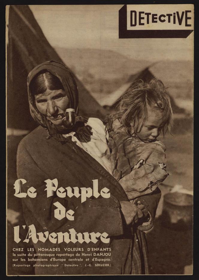 Reportage dans la revue «Détective» en1936.