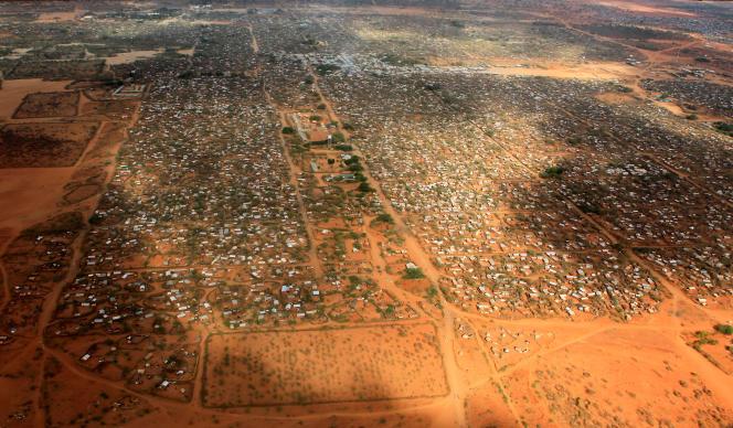 Le camp de réfugiés de Dadaab au Kenya, en avril 2011.