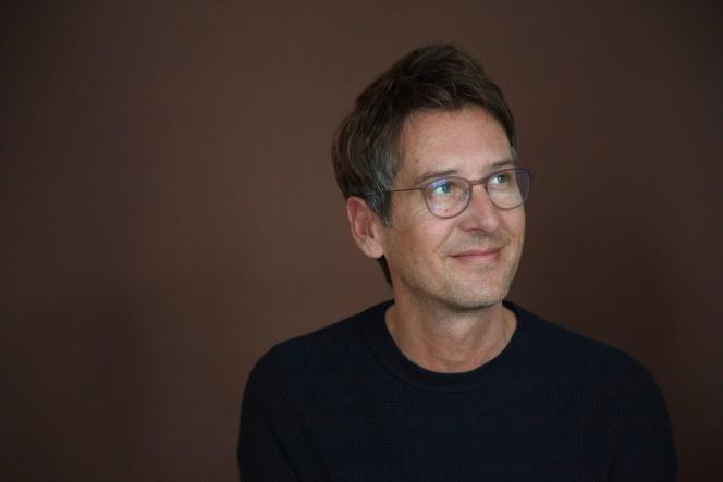 L'écrivain Arnaud Cathrine, en 2019.