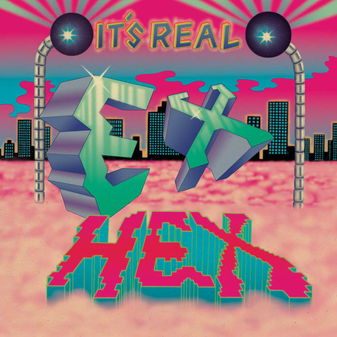 Pochette de l'album «It's Real», du trio Ex Hex.