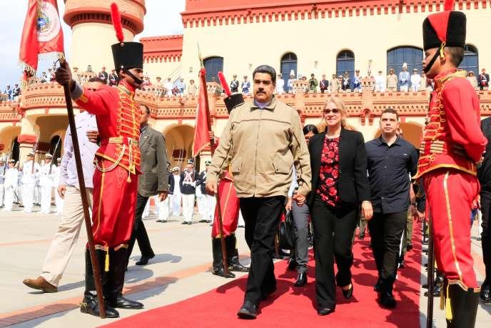 Nicolas Maduro à Caracas, le 5 mars.
