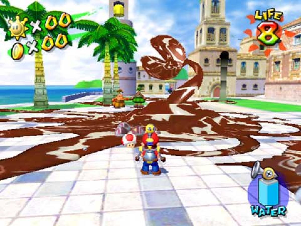 L'écologisme joyeux des années 1990 s'arrête avec« Super Mario Sunshine», en 2002.