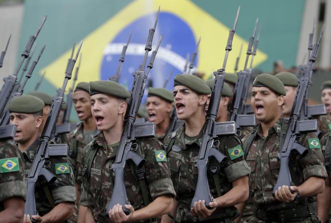 Un régiment de Sao Paulo a déjà célébré cet anniversaire.
