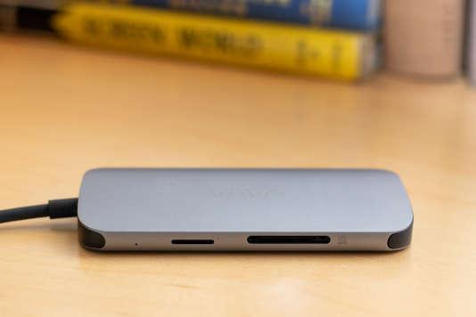 Les lecteurs de carte SD et microSD du hub Vava