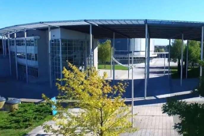 L'université de technologie de Troyes, dans l'Aube.