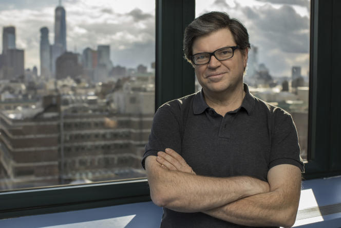 Le  chercheur en intelligence artificielle et vision artificielle (robotique), Yann LeCun, à New York, en 2017.