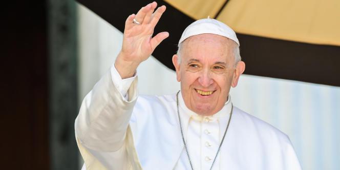 Le pape François lors du Synode sur la jeunesse, le 25 mars 2019.