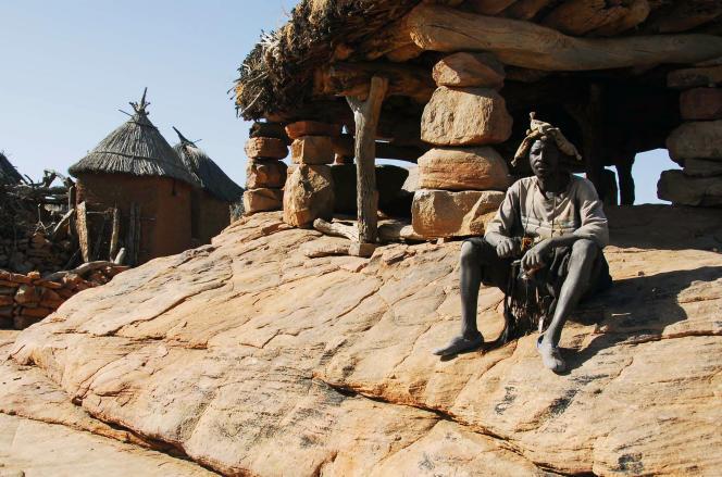 Un Dogon du village d'Indelou, dans le centre du Mali.