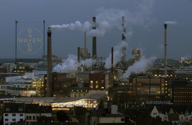 Une usine Bayer àLeverkusen, en Allemagne, en 2013.