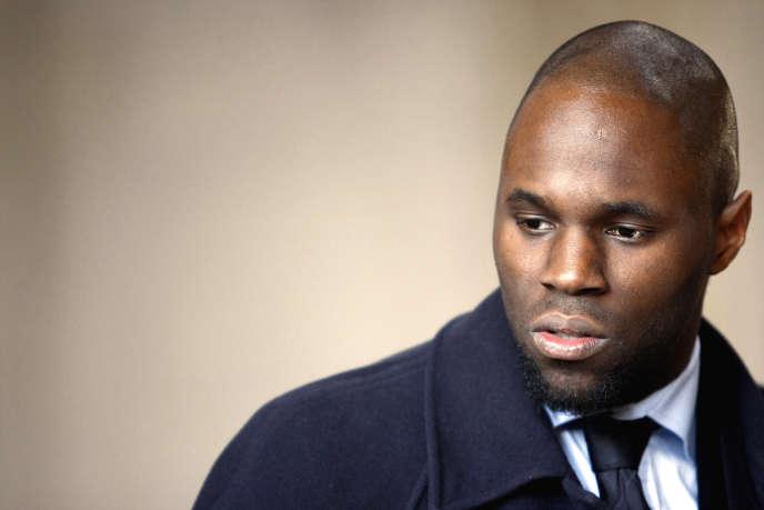 Kémi Séba, de son vrai nom Stellio Capo Chichi, à Paris, le 19 février 2008.